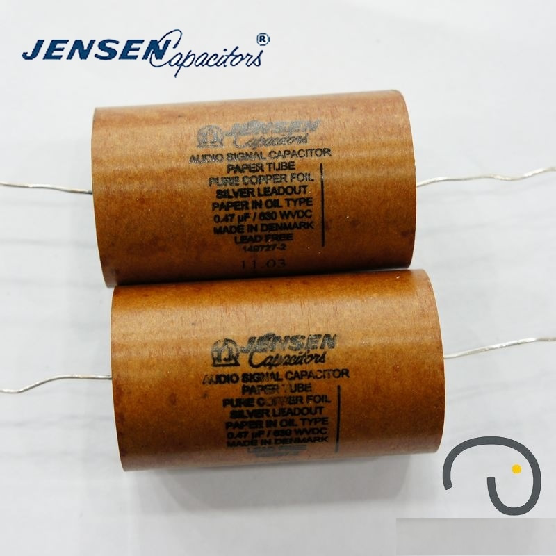 0.47uf 630V 38x70mm AUDIO SIGNAL CAPACITORS DENMARK JENSEN
