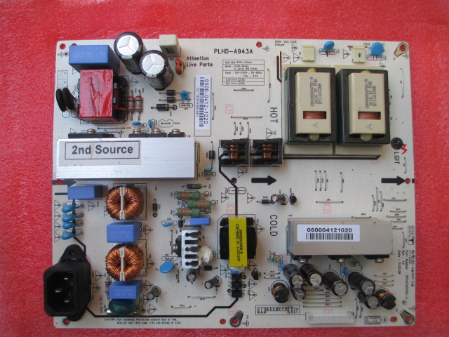 0500-0412-1020 PLHD-A943A 3PCGC10015A-R power supply board