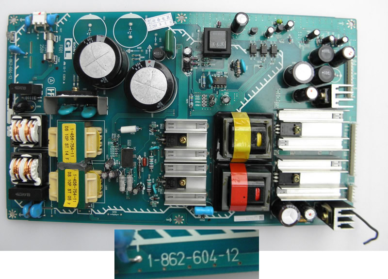 1-862-604-12  power supply board