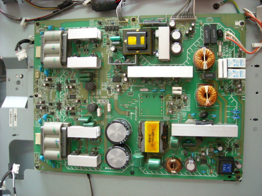 1-866-356-11 Sony Plasma TV Power Board