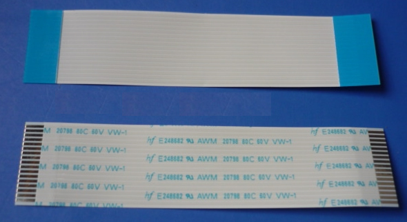 1.0mm 22P 50mm FFC TYPE A 5pcs/lot