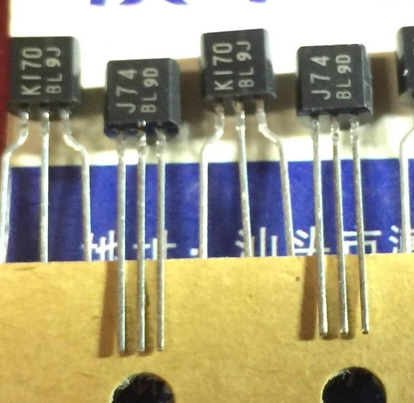 2SK170 2SJ74 K170 J74 Toshiba Pair 5PCS/LOT 2SK170 2SJ74 K170 J74