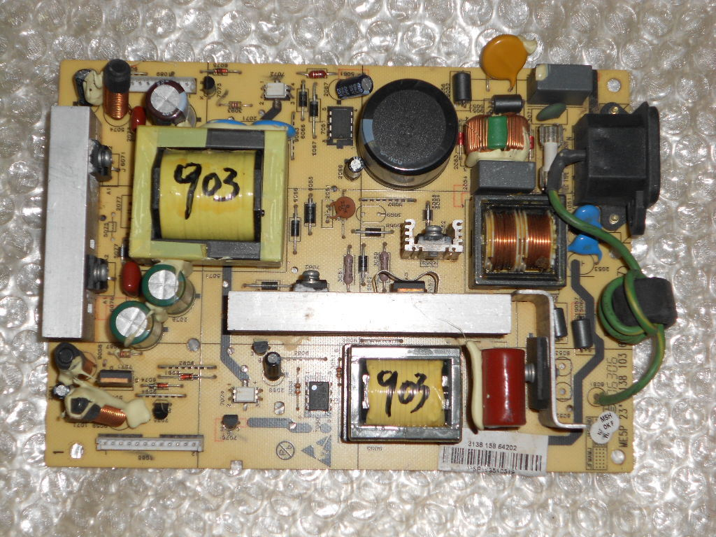 3138 103 6254.3 31381036254.3 3138 158 54202  32TA1600 32TA1000 Philips power board
