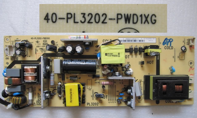 40-PL3202-PWD1XG G31-V320PT01-01 power board