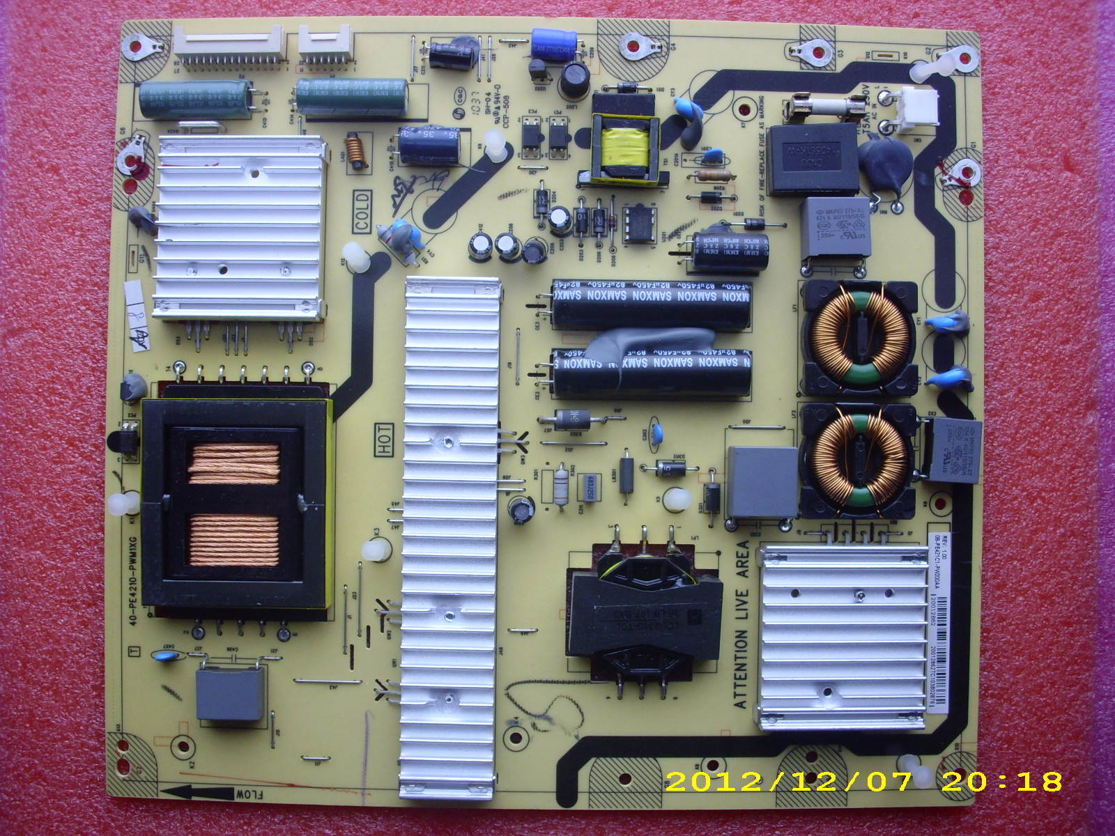 40-PE4210-PWM1XG power supply board