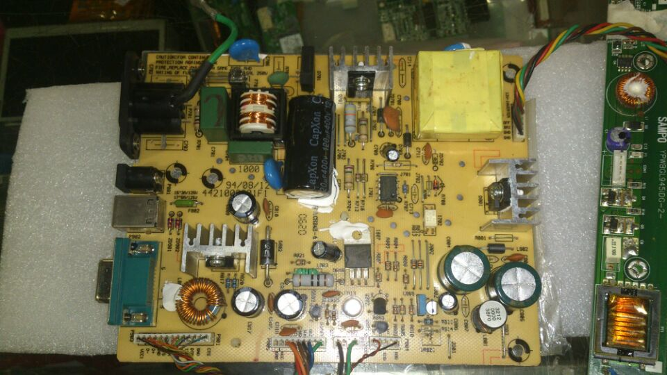 ELO 4421002201F1/CH24B-6 power supply board