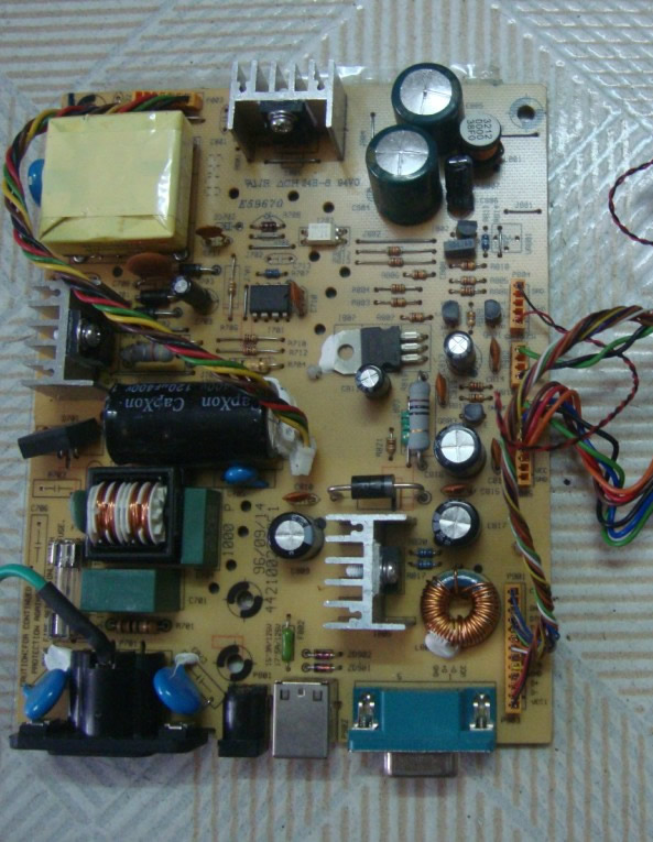 ELO 4421004701F1 POWER SUPPLY BOARD
