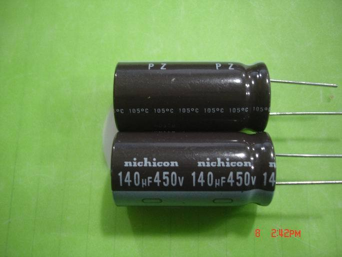 450V140UF 20*40MM 10pcs/lot