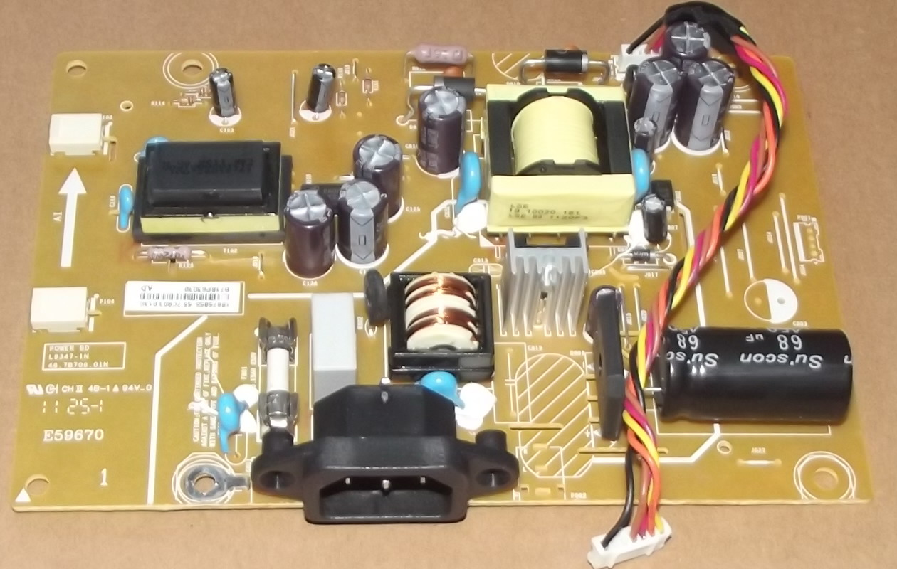48.7E203.01N POWER SUPPLY BOARD