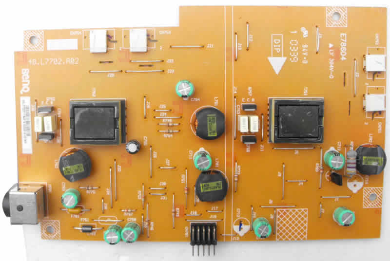 48.L7702.A10 48.L7702.A02 BENQ inverter power supply board