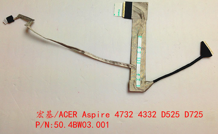 ACER ASPIRE 4732 4732Z D525 D725 50.4BW03.001 LCD CABLE