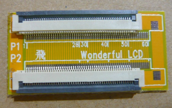 50P 0.5MM FFC extension board