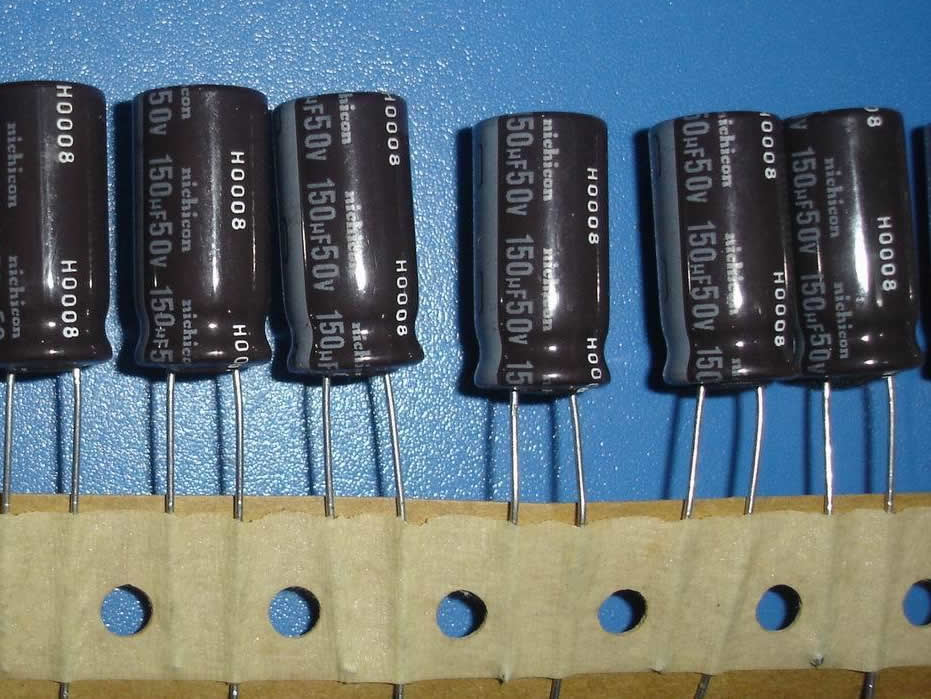 50V150UF 10*20MM spacing 5mm 20pcs/lot