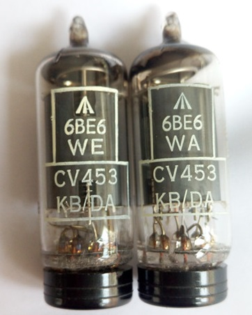6BE6 electron tube new