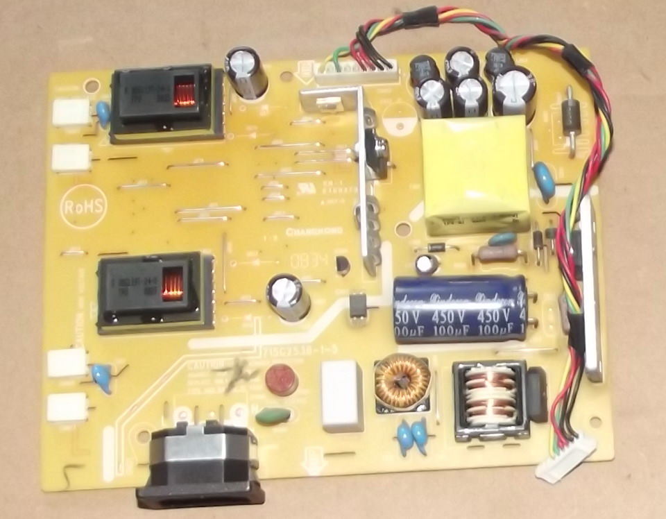 715G2538-1-5 LCD power inverter board