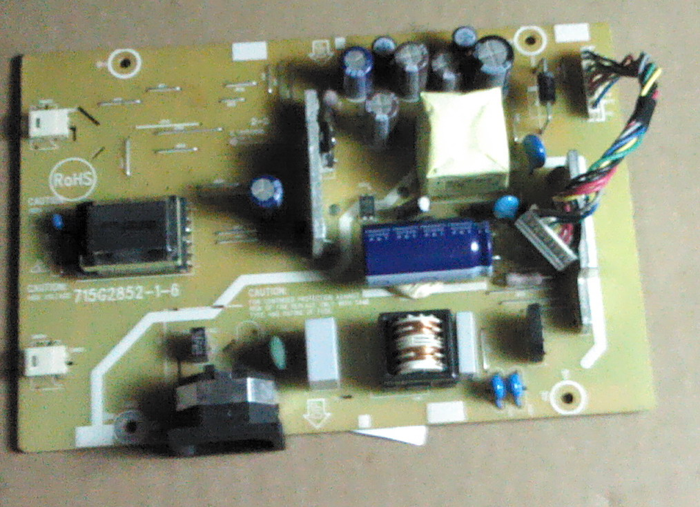 715G2852-2-6 LCD power inverter board