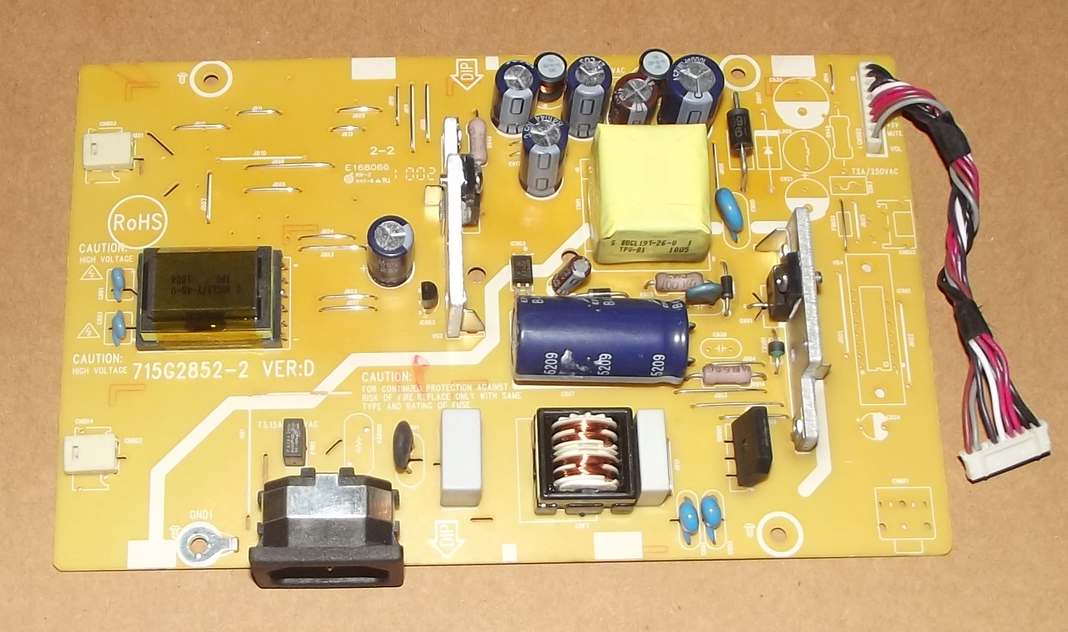 715G2852-2 LCD power inverter board