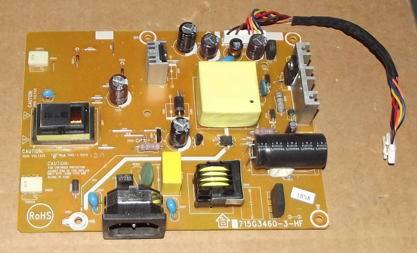 715G3460-3-HF LCD power inverter board