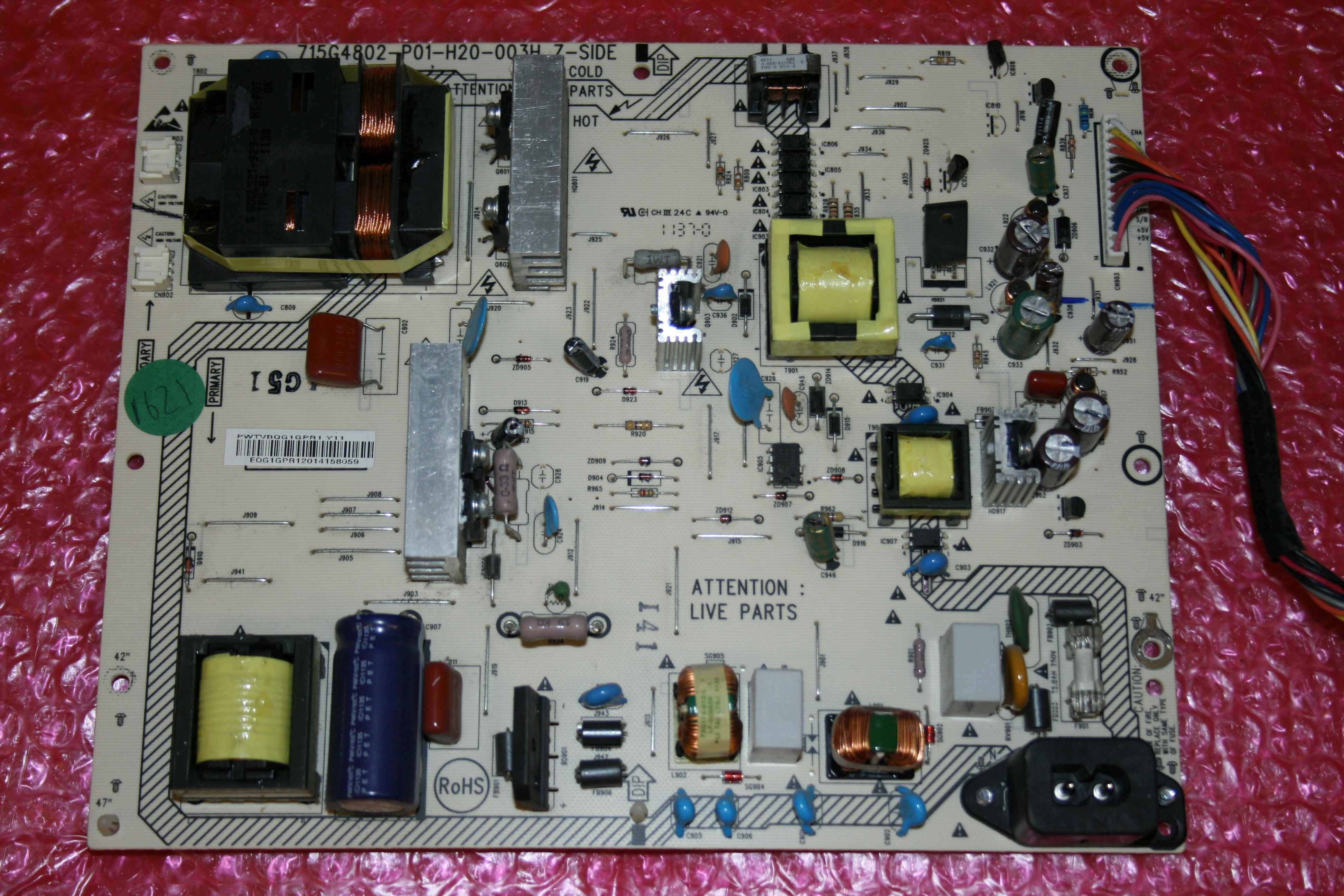 715G4802-P01-H20-003H LED TV POWER SUPPLY BOARD