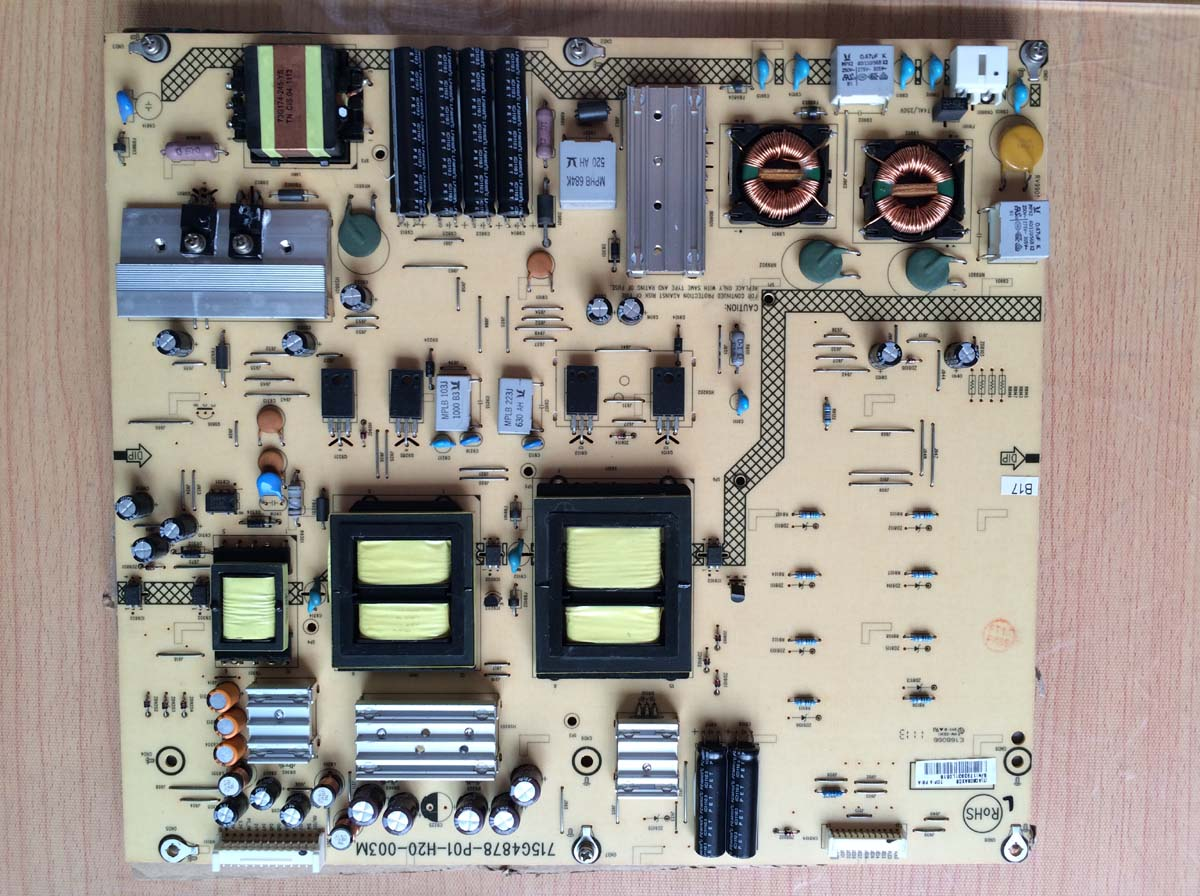 715G4878-P01-H20-003M tv power supply board