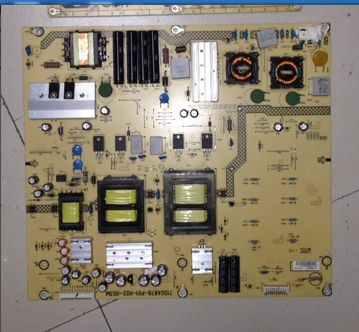 715G4878-P01-H22-003M 715G4878-P01-H22-003S TV POWER SUPPLY BOARD