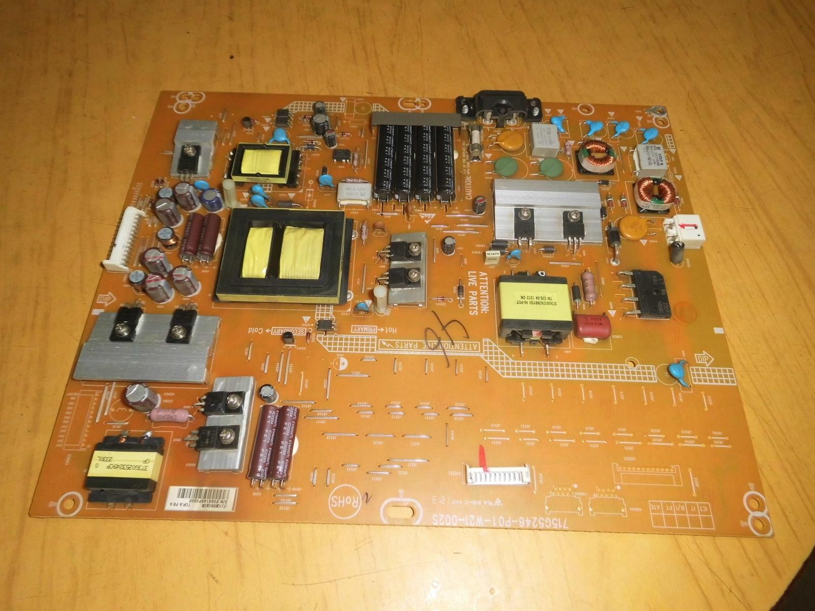 715G5246-P02-W21-002S tv power supply board