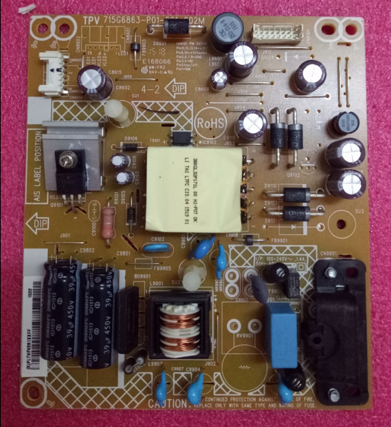 715G6863-P01-001-002M power supply board