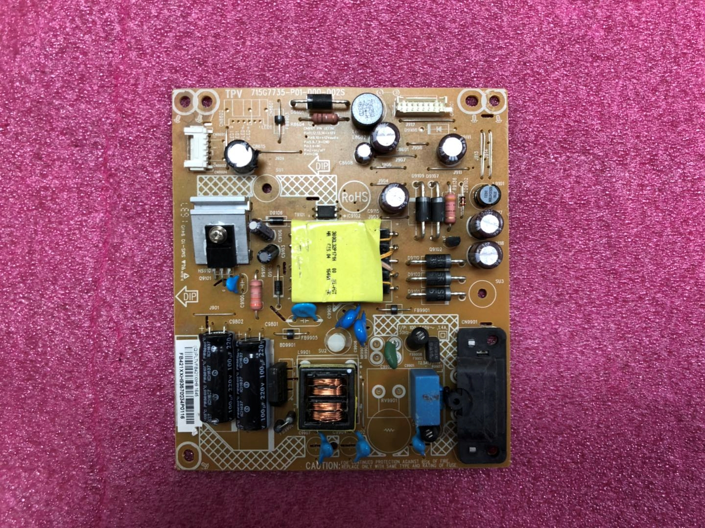 715G7735-P01-000-002S tv power supply board