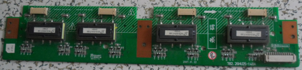 782.26HU25-140A backlight inverter board