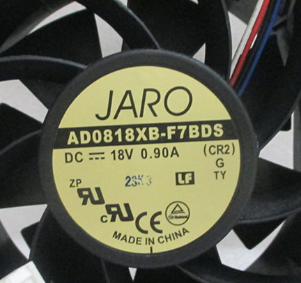 ADDA 8038 18V 0.9A AD0818XB-F7BDS 8cm fan new 4wire