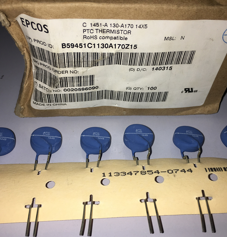 EPCOS B59451C1130A170Z15 PTC C1451 56Ohms 5pcs/lot