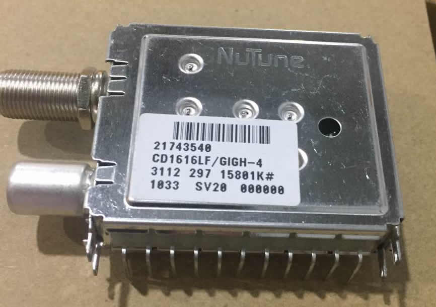CD1616LF/GIGH-4 nutune tuner new
