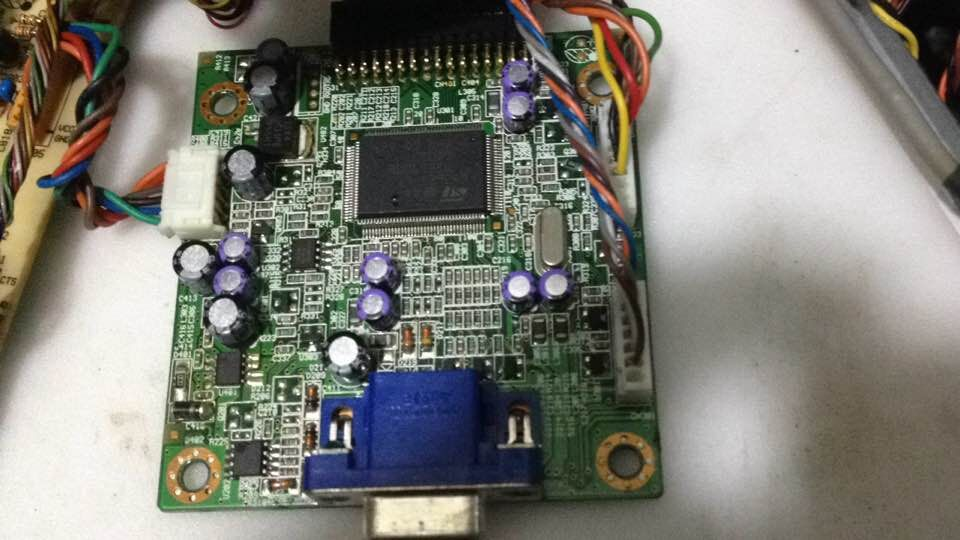 ELO E87711 video interface board for the ET1515L