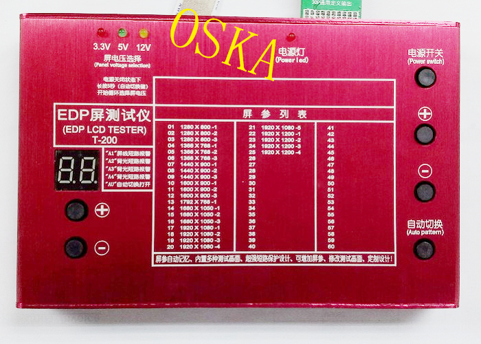 EDP LCD Display Tester  25-program work for 10-27inch