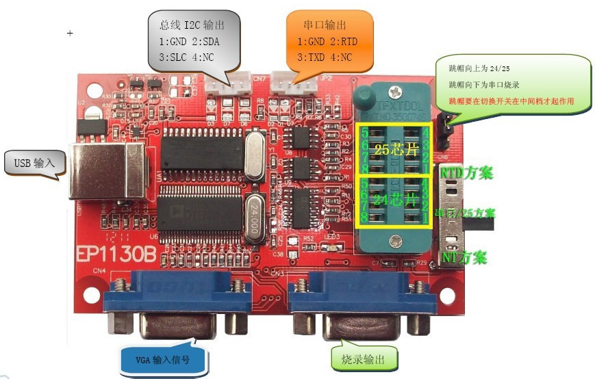 Professional USB LCD Programmer EP1130B
