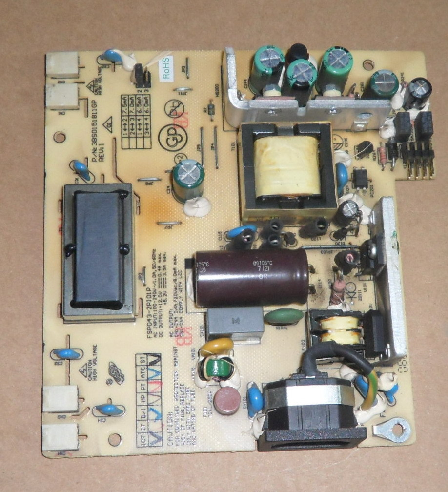 FSP043-2PI01P LCD power inverter board
