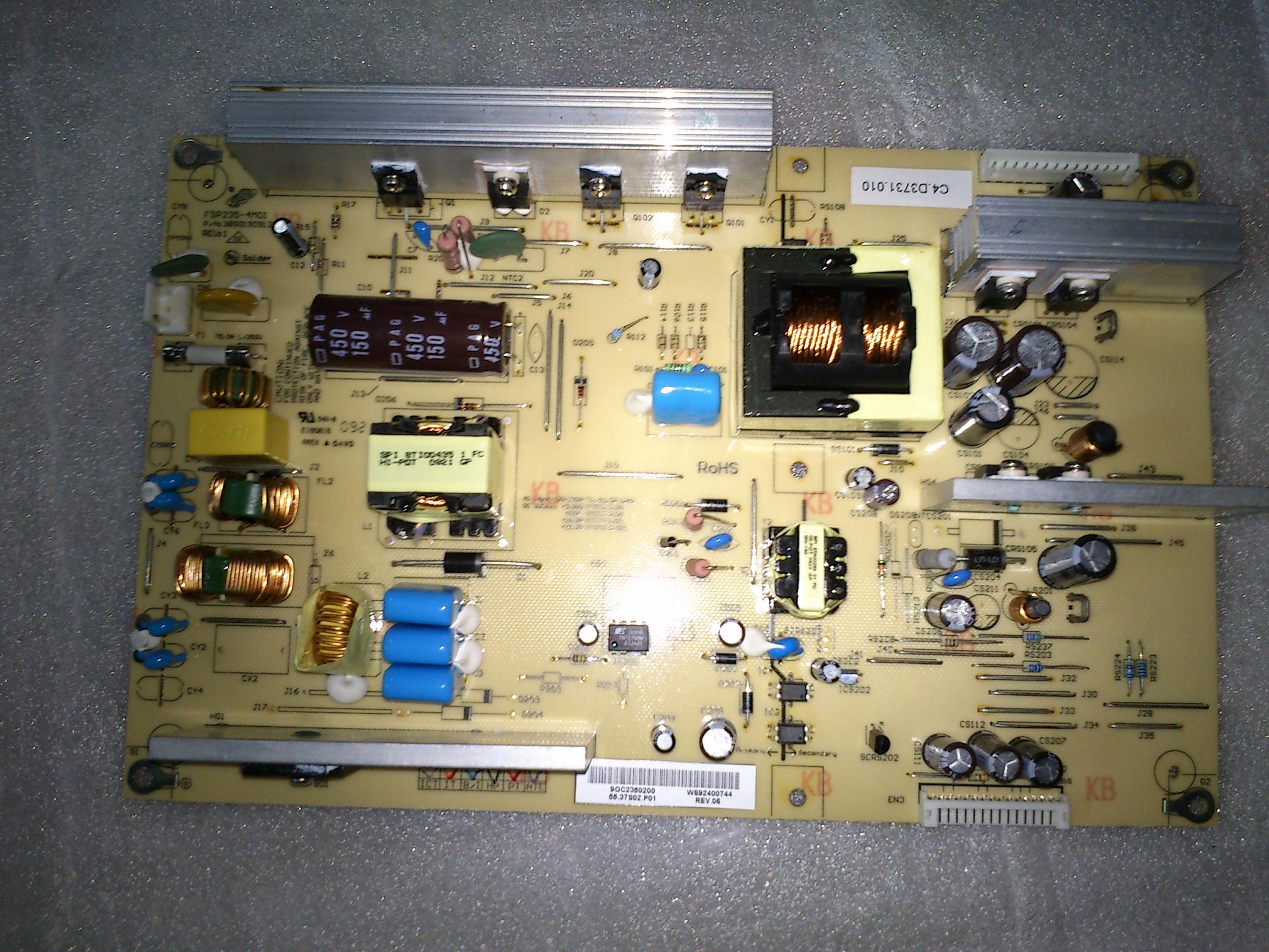 3BS0190912GP FSP235-4M01 REV:1 power supply board