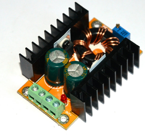 12V to 19V, 24V to 15V, 10-32v to 12-35v 10A adjustable boost DC-DC converter