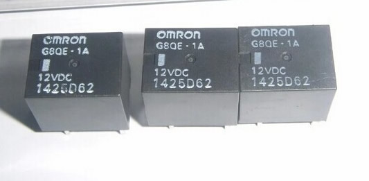 G8QE-1A 12VDC OMRON RELAY NEW