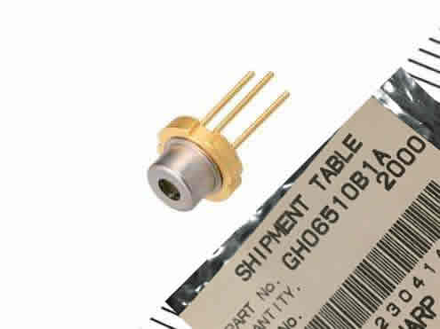 GH06510B1A 650nm 10mw  Sharp  TO-18 5.6mm