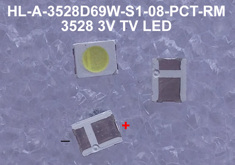 HL-A-3528D69W-S1-08-PCT-RM 3528 HONGLI TRONIC LED TV BACKLIGHT 50PCS/LOT