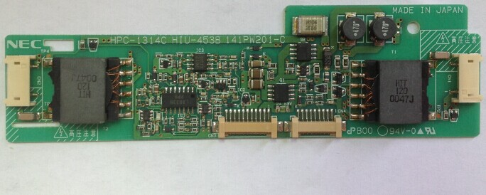 HPC-1314C  HIU-453B 141PW201-C backlight inverter board