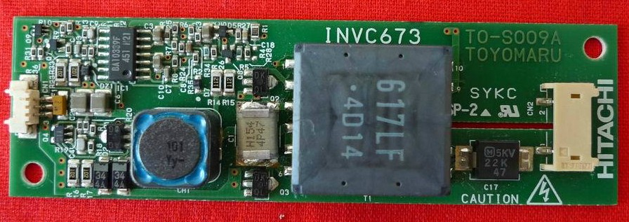 INVC673 TO-S009A HITACHI Inverter board used and tesed