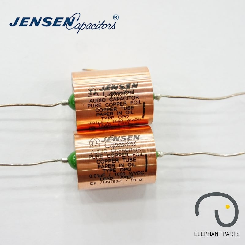 0.01uf 630V 22x29mm AUDIO CAPACITOR DENMARK JENSEN