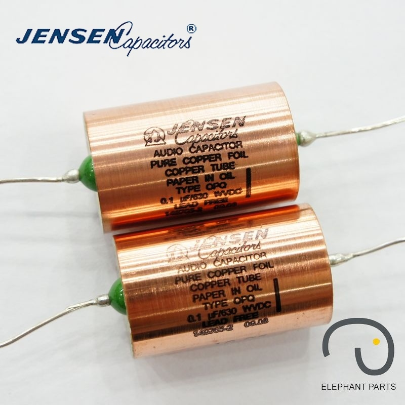 0.1uf 630V 22x35mm AUDIO CAPACITOR DENMARK JENSEN