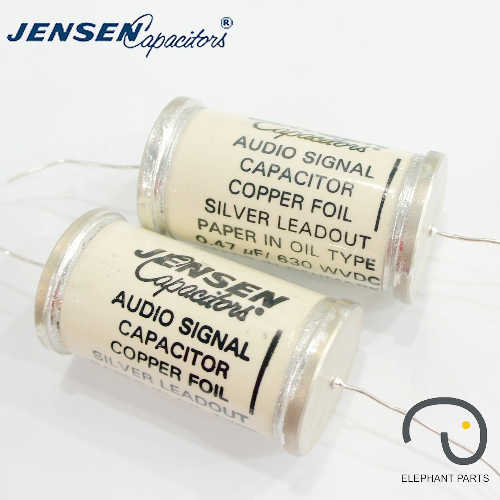 0.47uf 630V 33x64mm AUDIO SIGNAL CAPACITORS DENMARK JENSEN