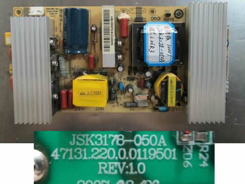 JSK3178-050A power board