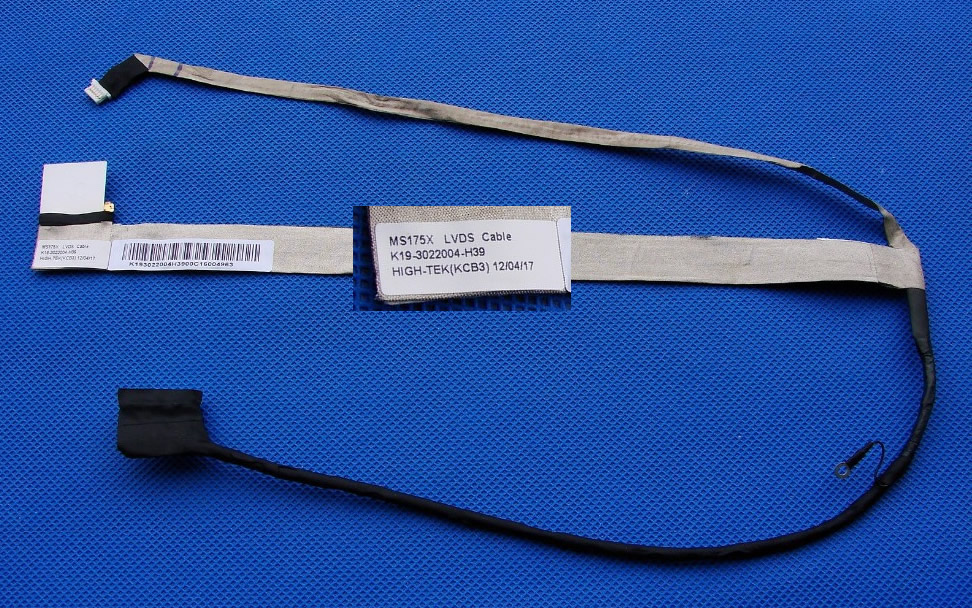 MS175X MS1755 K19-3022004-H39 MSI CX70 CR70 LCD LVDS CABLE