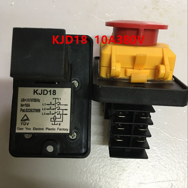 KJD18 380V/50HZ 10A SWITCH NEW