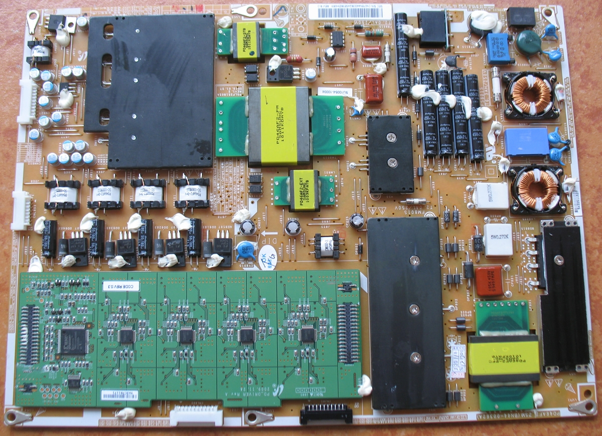 Circuit Board For Samsung Led Tv Parts Diagram Schematic Bn44 Power Ccfl 00362a Supply 55c8000